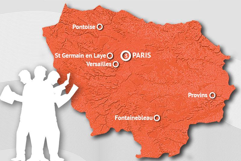 Organisez un rallye urbain d'anniversaire à Paris et dans toute l'Île de France