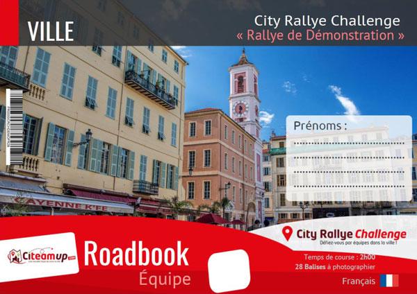 City Rallye Challenge - Livret Organisateur Démonstration - Activité Adulte - Citeamup