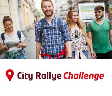 City Rallye Challenge Orientation course d'orientation en ville PME EVG EVJF Anniversaire & Séminaire d'entreprise
