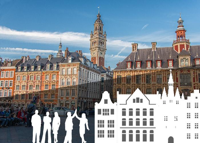 Activité insolite et originale à Lille - Rallye urbain, jeu de piste, chasse au trésor, rallye photo pour EVG, EVJF, anniversaire team building sortie scolaire & intégration grande école